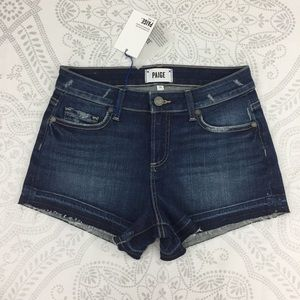 NWT Paige Daryn High Rise Denim Shorts, Josie, 26